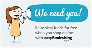 Easyfundraising - We Need You!